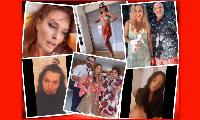 Οι celebrities σε… τρέλα! Τα χιουμοριστικά βιντεάκια που ανέβασαν στο tik tok και γελάσαμε πολύ!