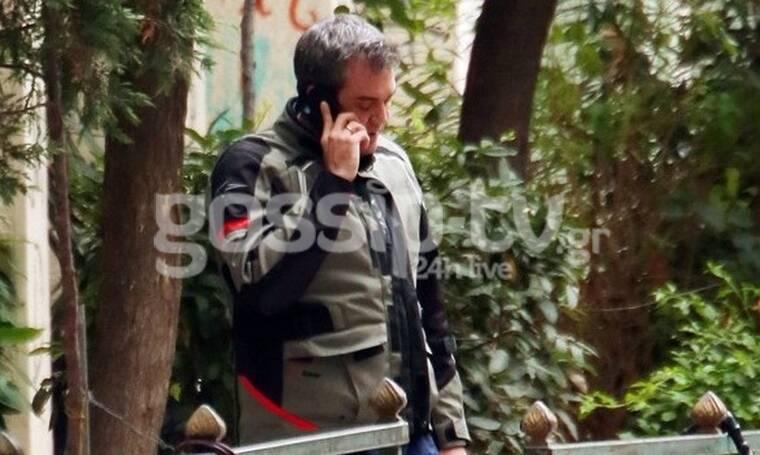 Δαδακαρίδης: Σπάνια έξοδος για τον ηθοποιό – Η συνάντηση στο κέντρο της Αθήνας