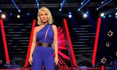 Επιστρέφει η Λάουρα Νάργες στο Voice - Η ανακοίνωση και η πρώτη φώτο!