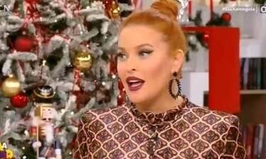 Η Σίσσυ Χρηστίδου ευχήθηκε on air στον «αντίπαλό» της Νίκο Μάνεση!