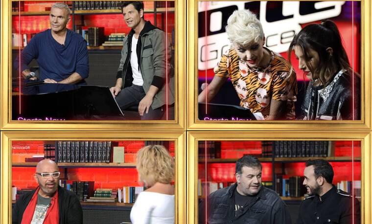 The Voice: Ο χαβαλές του Σταρόβα, το άγχος του Ρόκκου και η αφοσίωση της Τάμτα!
