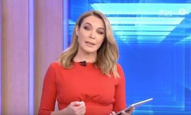 Τατιάνα Στεφανίδου: Πρεμιέρα για την παρουσιάστρια με κατακόκκινο φόρεμα!