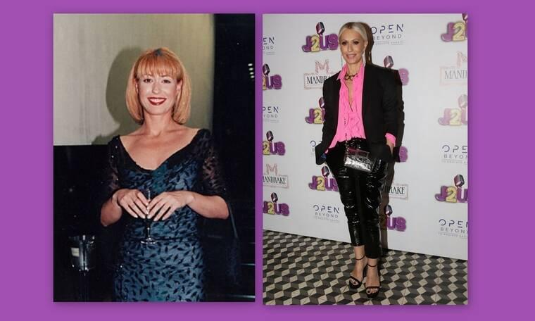 Μαρία Μπακοδήμου: Πώς ήταν και πώς έγινε! Η θεαματική αλλαγή της με τα χρόνια!