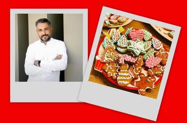 Ο Λευτέρης Σουλτάτος δίνει την απόλυτη Χριστουγεννιάτικη συνταγή για μπισκότα με ginger