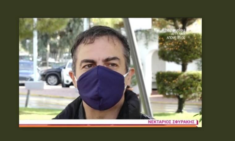 Συγκλονίζει ο Νεκτάριος Σφυράκης: Ο κακοήθης όγκος και οι πρώτες δηλώσεις μετά το χειρουργείο
