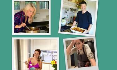 Οι celebrities το 2020 λάτρεψαν τη μαγειρική - Δες φωτό από τις κουζίνες τους