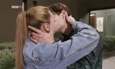 GNTM: Η πρώτη φορά που ο Αιμιλιάνο και η Μαριαγάπη φιλήθηκαν μπροστά στις κάμερες!