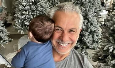 Κι όμως ο Χριστόπουλος στόλισε το καρότσι του γιου του! Η φωτό που έγινε viral