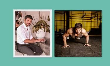 Μάνος Γαβράς: Ζει σε εντυπωσιακό ρετιρέ και μετέτρεψε το μπαλκόνι του σε γυμναστήριο