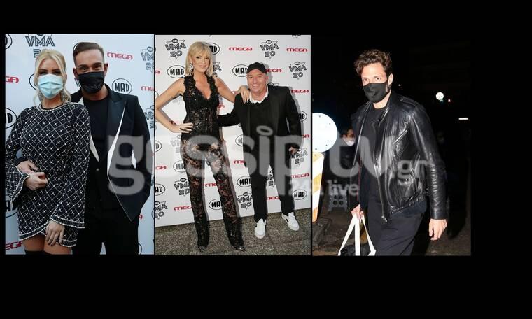 Mad Awards 2020: Παρέλαση επωνύμων στα γυρίσματα! Οι λαμπερές παρουσίες, οι αποστάσεις και οι μάσκες
