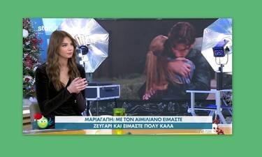 GNTM: Χείμαρρος αποκαλύψεων η Μαριαγάπη για τη σχέση της με τον Αιμιλιάνο
