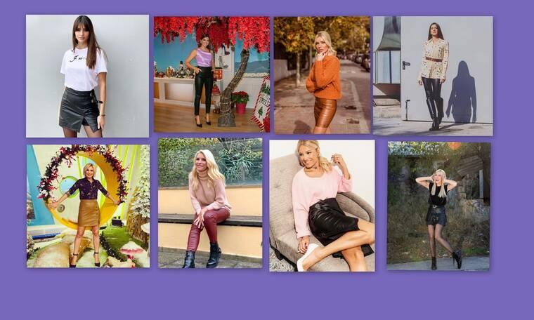 Οι παρουσιάστριες της ελληνικής TV απέκτησαν νέα στιλιστική εμμονή! Δείτε τι φοράνε!