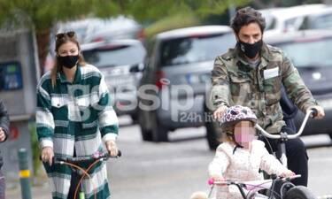 Καμπούρη – Ταρασιάδης: Ευτυχισμένες οικογενειακές στιγμές με τα παιδιά τους!
