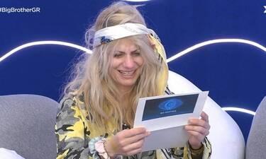 Big Brother: Η συγκίνηση της Άννας Μαρίας για την έκπληξη της γιορτής της!