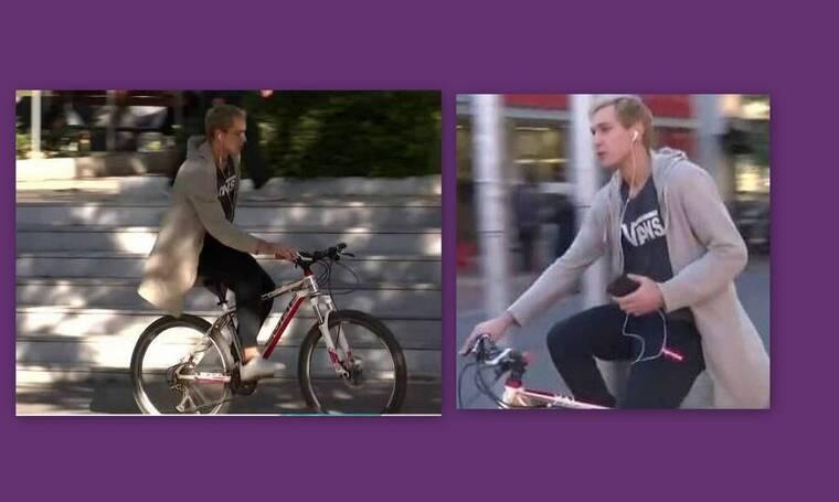 GNTM: Οι πρώτες εικόνες του Έντουαρντ εκτός σπιτιού και η βόλτα με το ποδήλατο!
