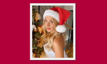 Κωνσταντίνα Σπυροπούλου: Δες φωτό από το pre christmas δείπνο με τον αγαπημένο της