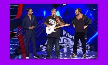 The Voice: Απίστευτη ατάκα on air:«Ο Μουζουράκης είναι εγκεφαλικά κατεστραμμένος»