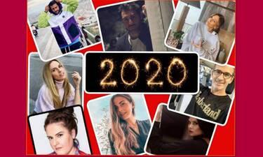 Ανασκόπηση 2020: Οι Έλληνες celebs αναπολούν την καλύτερη στιγμή τους μέσα στη χρονιά