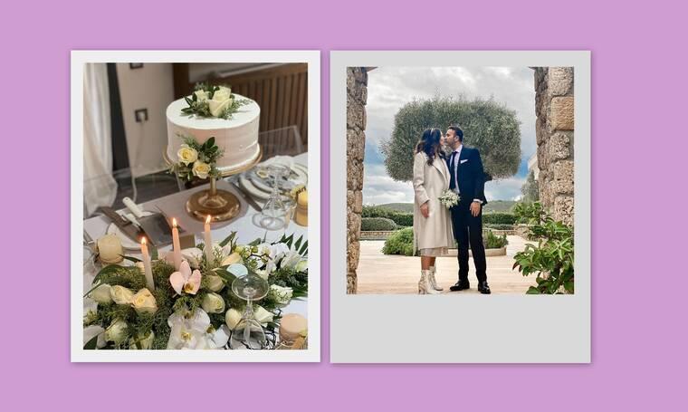 Τζώρτζια Βαϊνά: H πρώην παίκτρια του My Style Rocks σε νέες φωτό από τον γάμο της