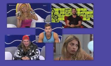 Big Brother τελικός: Τα ατού και οι αδυναμίες των πέντε φιναλίστ