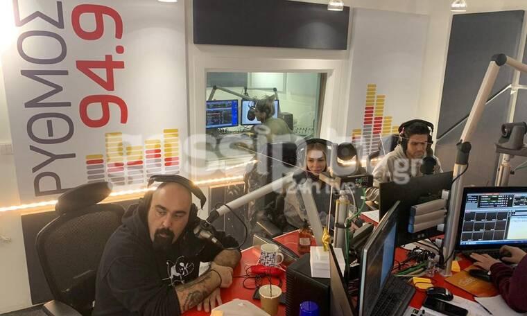 Στο στούντιο του Ρυθμού με Ουγγαρέζο, Ιωάννα Λαϊου και Σταμάτη Ντιν Νταν Ντον για το Make a Wish