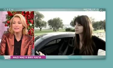 Βίκυ Καγιά: Μιλά πρώτη φορά on air για την κόντρα με την Ηλιάνα Παπαγεωργίου