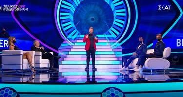 Big Brother τελικός: Αυτός αποχώρησε τρίτος - Αυτοί οι δύο διεκδικούν τις 100.000 ευρώ