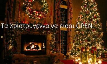 Ο μαγικός κόσμος του σινεμά και τα Χριστούγεννα στο OPEN!