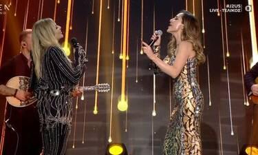 J2US τελικός: Η στιγμή που όλοι περιμέναμε! Άννα Βίσση - Δέσποινα Βανδή μαζί στη σκηνή!