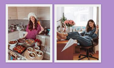 Χριστίνα Μπόμπα: Οι νέες φωτό από την εγκυμοσύνη και το τραπέζι για τη γιορτή της!