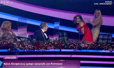 J2US: Δέσποινα Βανδή- Μαρία Μπακοδήμου: Έκαναν ζημιά στο πλατό (vid)