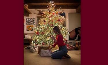 Ευγενία Νιάρχου: Χριστούγεννα στο St. Moritz και στο πολυτελές σαλέ