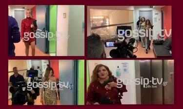 J2US τελικός: Το gossip-tv στα παρασκήνια του show - Η είσοδος των κριτών