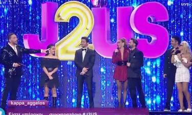 J2US: Τα ζευγάρια που αποχώρησαν στη σκηνή του τελικού