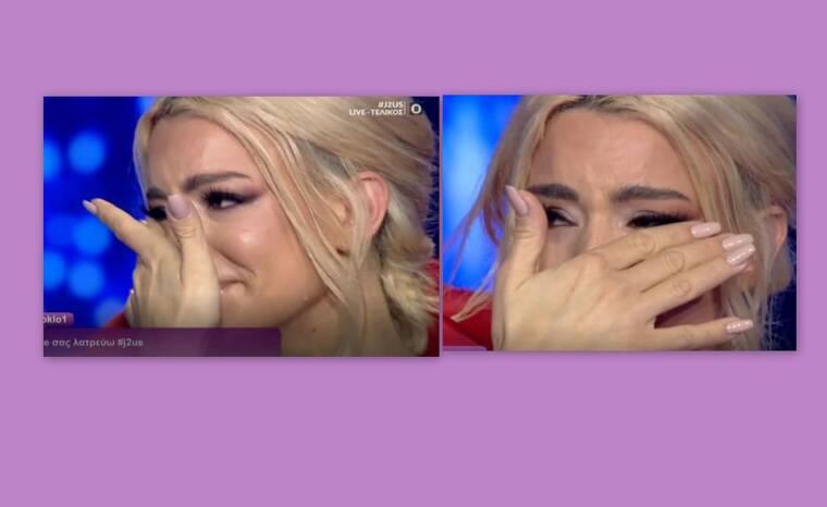 J2US τελικός: Λύγισε η Ζόζεφιν - Τι συνέβη και έβαλε τα κλάματα στο live;