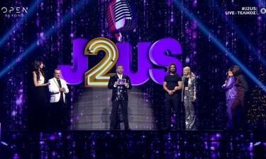 J2US τελικός: Αυτοί είναι οι μεγάλοι νικητές (Photos-Video)
