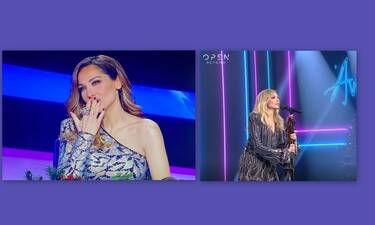 J2US τελικός: Κι όμως! Η Βανδή έκανε story την Άννα Βίσση την ώρα που τραγουδούσε!