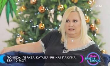 Καίτη Φίνου: «Πόνεσα, πέρασα την κατάθλιψη μου και πάχυνα στα 40 μου»