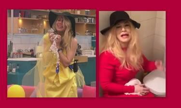 Big Brother: Ο Ζαχαράτος ξαναχτύπησε σε ρόλο Άννας Μαρίας Ψυχαράκη - Τρελό γέλιο!