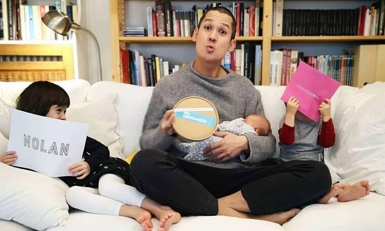 Σωτήρης Κοντιζάς: Η φωτογραφία και το δημόσιο τρολάρισμα στο γιο του! (photo)