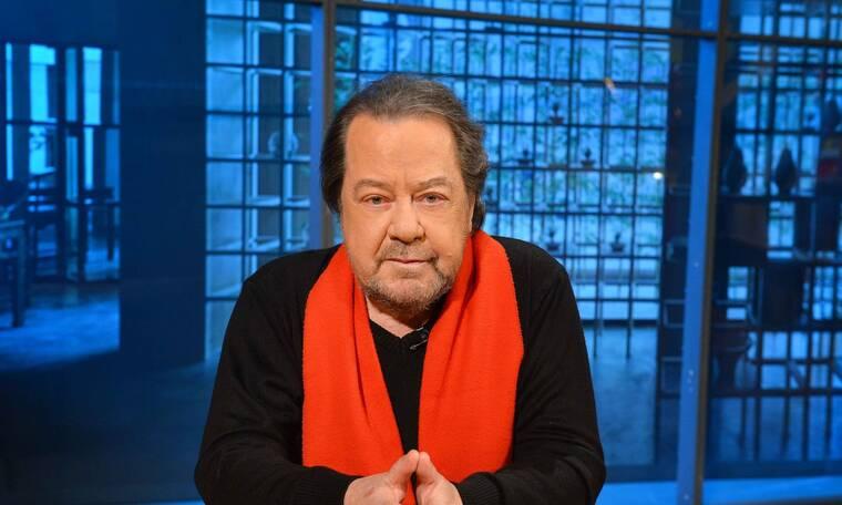 Ο Γιάννης Πάριος στην εκπομπή «Η ζωή είναι στιγμές» με τον Ανδρέα Ροδίτη