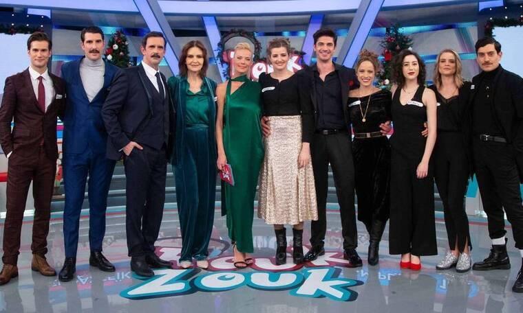 Τηλεθέαση: Άγγιξε το 47,1% το χριστουγεννιάτικο «Rouk Zouk»