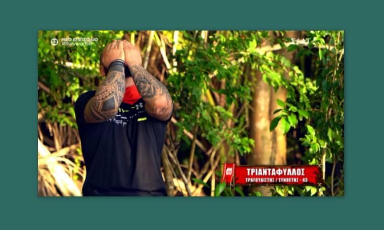 Survivor: Έβαλε τα κλάματα ο Τριαντάφυλλος από την τρίτη μέρα - Τι συνέβη;