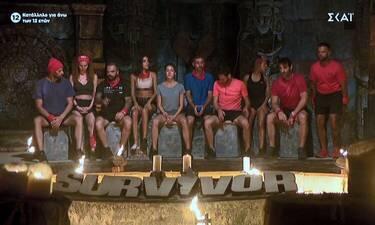 Survivor: Ανατροπή στην ψηφοφορία! Δύο παίκτες υποψήφιοι προς αποχώρηση!