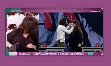 Ζαρίφη – Ράμμος: To νέο καυτό φιλί on camera! Τι τρέχει τελικά ανάμεσά τους;