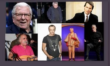 Ανασκόπηση 2020: Οι Έλληνες καλλιτέχνες που «έφυγαν» - «Πτώχευσαν» μουσική και θέατρο