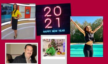 Happy New Year: Οι επώνυμοι στέλνουν τις ευχές τους για το 2021!