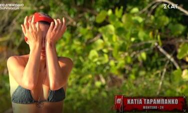 Survivor: Λύγισε η Κάτια Ταραμπάνκο - Τα κλάματα και η επίθεση στους συμπαίκτες της!