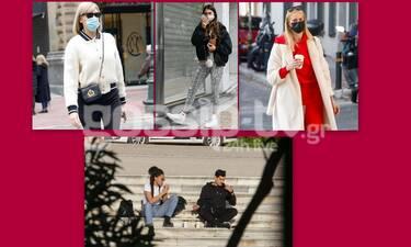 Πήραν τους δρόμους οι επώνυμοι της ελληνικής showbiz! (Photos)
