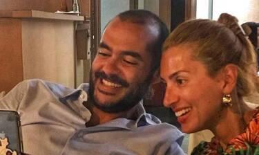 Μαρία Ηλιάκη: Ευχήθηκε καλή χρονιά από την αγκαλιά του συντρόφου της κι έγινε viral!